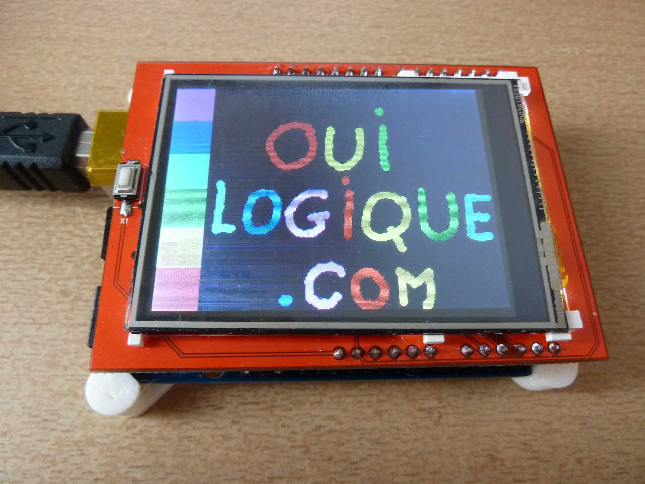 mcufriend LCD touch screen