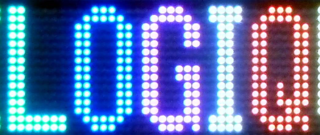 Afficheur à LED 128×16
