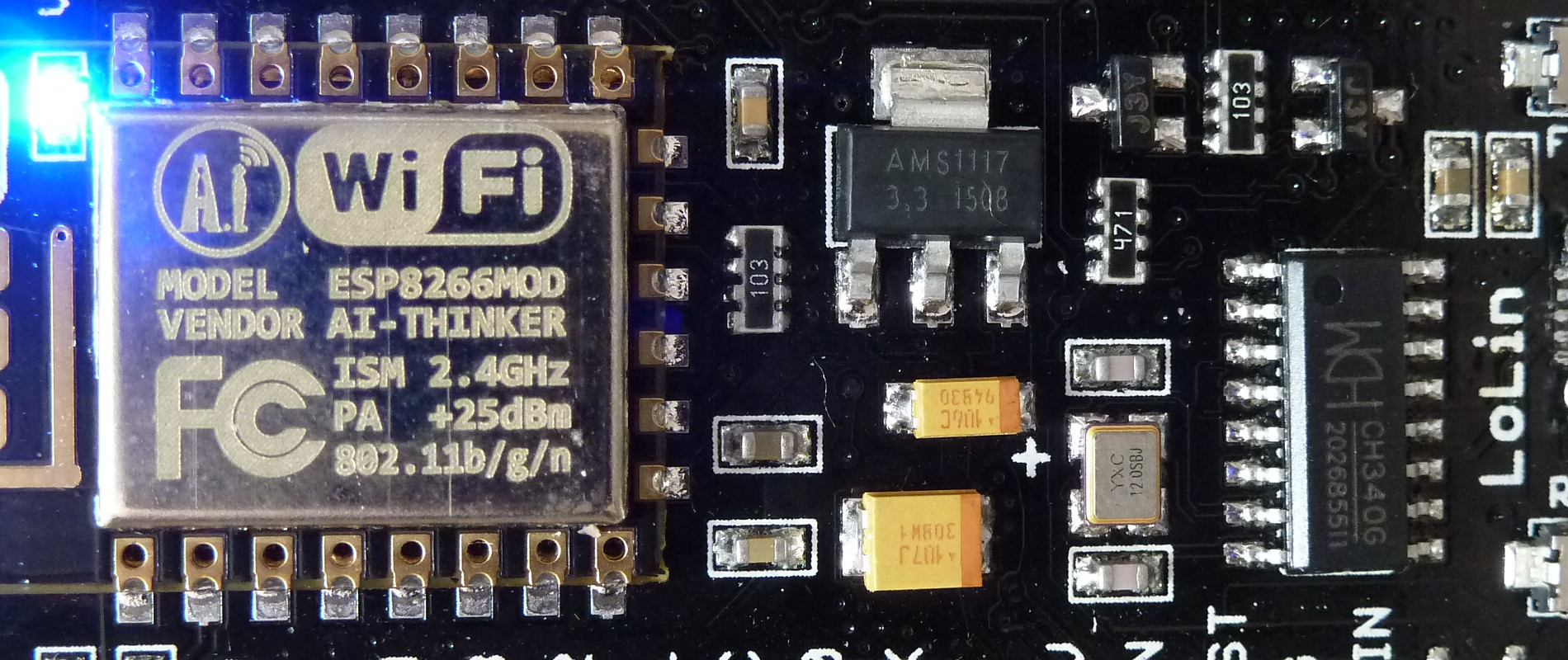 ESP8266 OLED DHT22