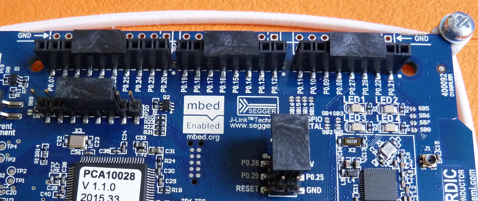 Découverte du Bluetooth Low Energy avec la carte Nordic Semiconductor nRF51